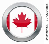 a canadian flag icon design... | Shutterstock .eps vector #1072279886