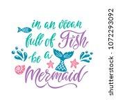 in an ocean full of fish be a...   Shutterstock .eps vector #1072293092