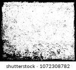 grunge border frame.vector... | Shutterstock .eps vector #1072308782