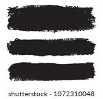 set of grunge banners .vector... | Shutterstock .eps vector #1072310048