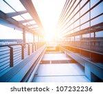 image of windows in morden... | Shutterstock . vector #107232236