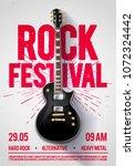 vector illustration rock... | Shutterstock .eps vector #1072324442