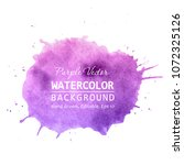 purple paint splatter... | Shutterstock .eps vector #1072325126