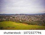 edinburgh landscape  edinburgh... | Shutterstock . vector #1072327796