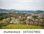 edinburgh landscape  edinburgh... | Shutterstock . vector #1072327802