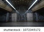 empty urban  industrial... | Shutterstock . vector #1072345172