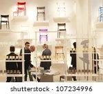 milan   april 17  people visit... | Shutterstock . vector #107234996