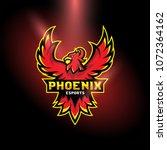 phoenix esports logo | Shutterstock .eps vector #1072364162