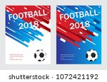 football poster template... | Shutterstock .eps vector #1072421192