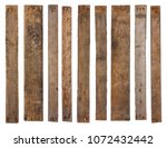 Old Wooden Planks Isolated On...