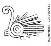 grunge indigenous alt native... | Shutterstock .eps vector #1072464662
