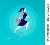 vector flat illustration with... | Shutterstock .eps vector #1072466216