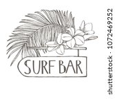 surf bar. composition this...   Shutterstock .eps vector #1072469252