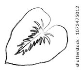 grunge spring nature leaf tree... | Shutterstock .eps vector #1072475012