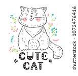 t shirt print scandinavian...   Shutterstock .eps vector #1072476416