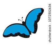 color beauty butterfly insect...   Shutterstock .eps vector #1072502636