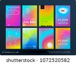abstract colourful graphic... | Shutterstock .eps vector #1072520582