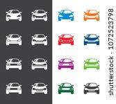 car icon logo design vector | Shutterstock .eps vector #1072523798