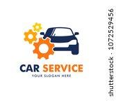 car service logo design vector | Shutterstock .eps vector #1072529456