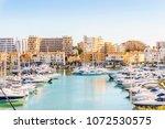 Marina Full Of Luxurious Yachts ...