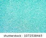 blue green glitter sparkle... | Shutterstock . vector #1072538465