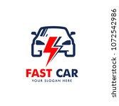 car logo design vector | Shutterstock .eps vector #1072542986