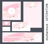set design templates for... | Shutterstock .eps vector #1072547198