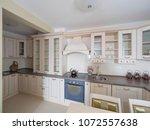 apartment interior design | Shutterstock . vector #1072557638