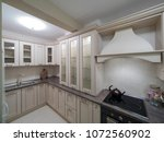 apartment interior design | Shutterstock . vector #1072560902