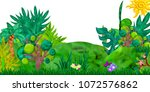 3d rendered game forest... | Shutterstock . vector #1072576862