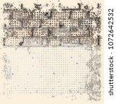 brick wall. abstract grunge...   Shutterstock . vector #1072642532