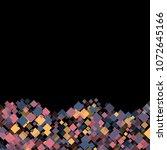 rhombus cosmic minimal... | Shutterstock .eps vector #1072645166
