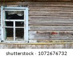 Old Dilapidated Window Of A...