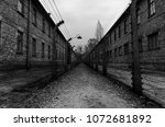 auschwitz  poland  october... | Shutterstock . vector #1072681892