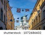 helsinki  finland   august 8...   Shutterstock . vector #1072686602