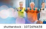 digital composite of people...   Shutterstock . vector #1072696658