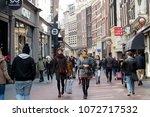 amsterdam  holland   14 april...   Shutterstock . vector #1072717532