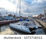 gdansk  poland. 12 june 2017 ... | Shutterstock . vector #1072718312