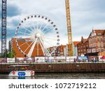 gdansk  poland   19 april 2018  ... | Shutterstock . vector #1072719212