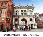 gdansk  poland  18 april 2018... | Shutterstock . vector #1072720262