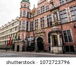 gdansk  poland  19 april 2018 ... | Shutterstock . vector #1072723796