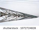soviet horizont radar station ... | Shutterstock . vector #1072724828