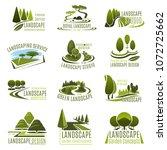 landscape design studio icon... | Shutterstock .eps vector #1072725662