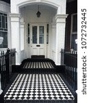 white english porch in london... | Shutterstock . vector #1072732445