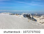 a wintertime view from mt.... | Shutterstock . vector #1072737032