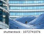 spider facade fixing system.... | Shutterstock . vector #1072741076