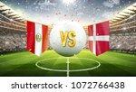 peru vs. denmark. soccer...   Shutterstock . vector #1072766438