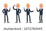 businessman character vector... | Shutterstock .eps vector #1072783445