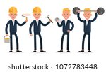 businessman character vector... | Shutterstock .eps vector #1072783448