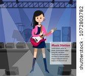 vector character female...   Shutterstock .eps vector #1072803782